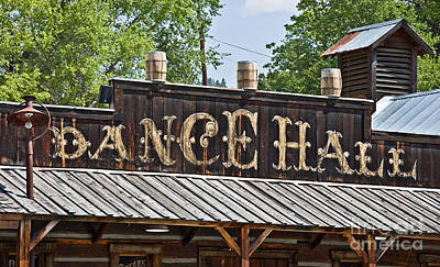 Old Dance Hall Art Print