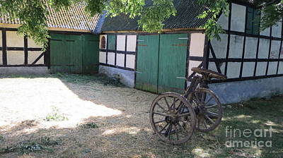 Photograph - Old Danish Farm by Susanne Baumann