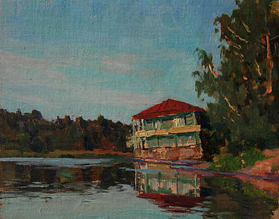 Painting - Old Debarkader by Korobkin Anatoly