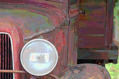 Photograph - Old Delivery Truck by Sheri McLeroy