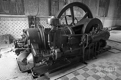 Photograph - Old Diesel Motor Mexico by John  Mitchell