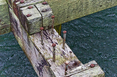 Photograph - Old Dock 1 by Adria Trail