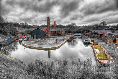 Victorian Town Photograph - Old Dock by Adrian Evans