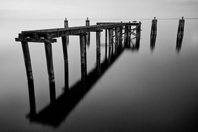 Photograph - Old Dock by Stefan Mazzola