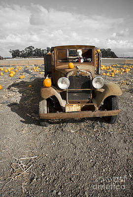 Photograph - Old Dodge Brothers Truck by David Millenheft