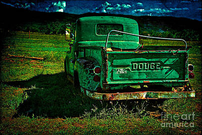 Photograph - Old Dodge by Charles Muhle