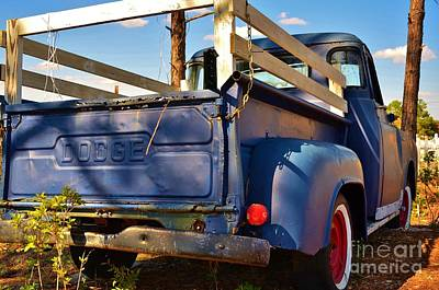 Photograph - Old Dodge Pick Up by Bob Sample