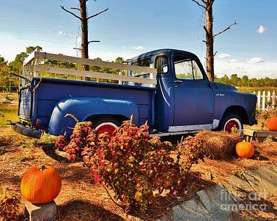 Photograph - Old Dodge Truck by Bob Sample