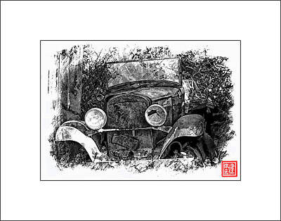 Old Dodge Truck II Art Print