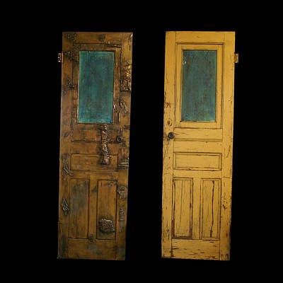 Old Door Art Print by Christopher Schranck