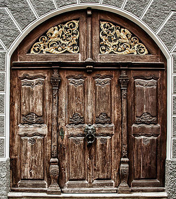 Photograph - Old Door I by Patrick Boening