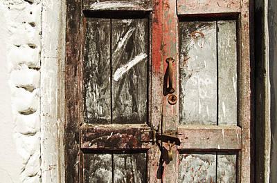 Photograph - Old Door In Mysore by Valerie Rosen