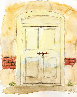 Old Door Art Print by Keshava Shukla