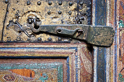Photograph - Old Door Lock by Mick House