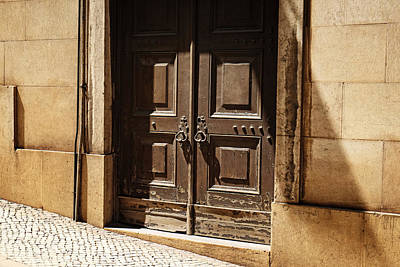 Photograph - Old Door Of Lisbon by Lucinda Walter