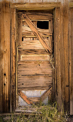 Photograph - Old Door by  Onyonet  Photo Studios