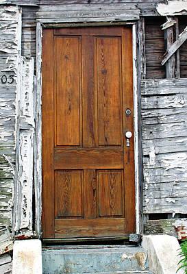 Old Door Art Print by Sarah-jane Laubscher