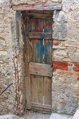 Photograph - Old Door by Susan Leonard