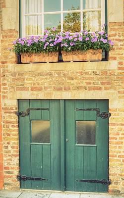 Owls - Old doors by Linda Covino