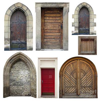 Wood Pylons Photograph - Old Doors by Michal Boubin