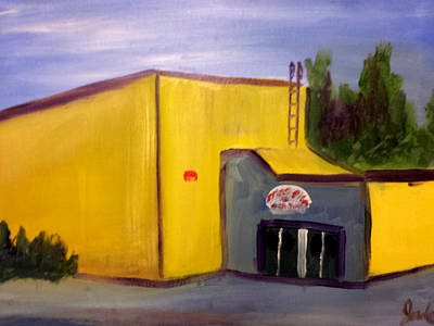 Painting - Old Dora Erickson School by Steve Jorde