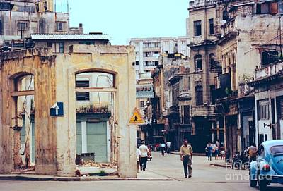 Photograph - Old Downtown Havana Cuba by Rafael Salazar