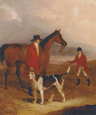 Reins Painting - Old Druid With Richard King Sampson by Thomas Henwood