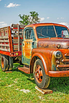 Photograph - Old Dually by Sue Smith