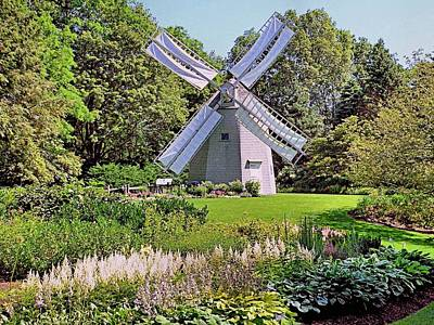 Photograph - Old East Windmill  by Janice Drew
