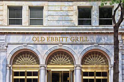 Photograph - Old Ebbitt Grill by Jemmy Archer