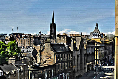 Photograph - Olde Edinburgh by Beauty For God