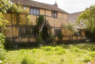 Photograph - Old English Chocolate Box Cottage by Anthony Morgan
