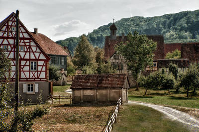 Photograph - Old European Village by Patrick Boening