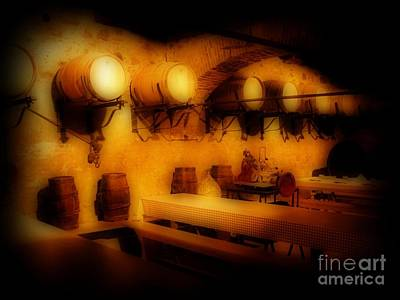Travel - Old European Wine Cellar by John Malone