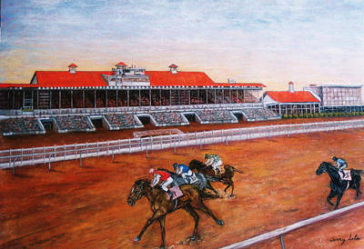 Painting - Old Fairgrounds In New Orleans by Terry Sita