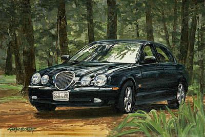 Old Faithful 2000 Jag Art Print