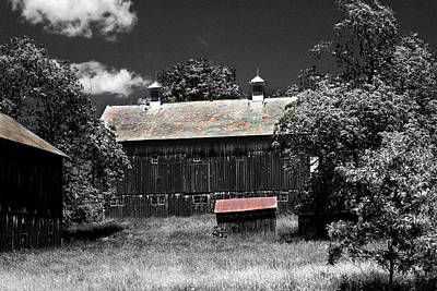 Photograph - Old Farm 2 by David Yocum