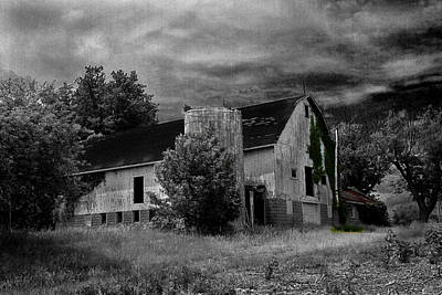 Photograph - Old Farm 3 by David Yocum