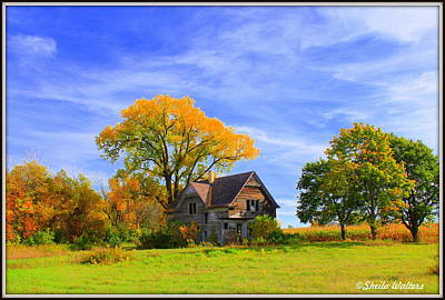 Photograph - Old Farm Home by Sheila Werth