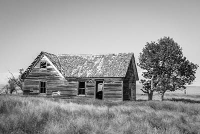 Old Farm House 2 Print by Chad Rowe