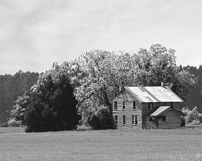 Farm Photograph - Old Farm House by Brett Price