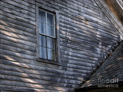 Photograph - Old Farm House Detail by Tom Brickhouse