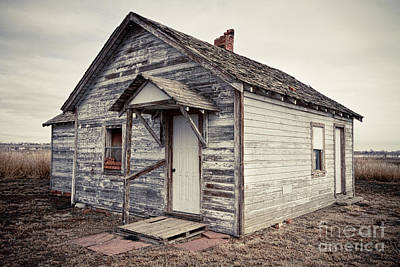 Farmhouse Photograph - Old Farm House by James BO  Insogna