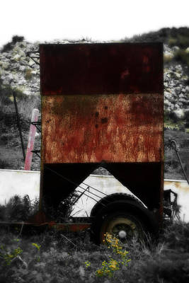 Financial Mixed Media - Old Farm Machinery - Series IIi by Doc Braham