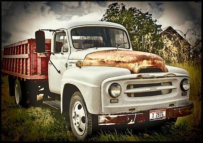 Old Farm Truck Art Print