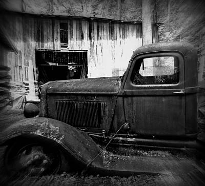 Wall Art - Photograph - Old Farm Truck by Mickey Murphy