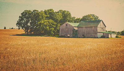 Farming Photograph - Old Farm Scene by Garvin Hunter