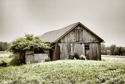 Nikki Vig Royalty-Free and Rights-Managed Images - Old Fashion Chicken Coop by Nikki Vig