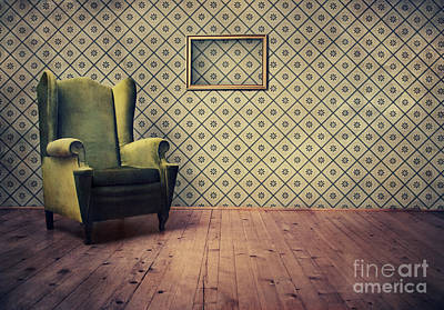 Old Fashioned Armchair Art Print by Jelena Jovanovic