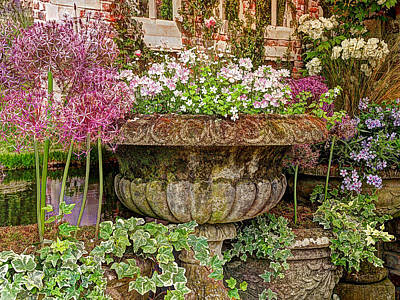 Photograph - Old Fashioned Planters by Gill Billington